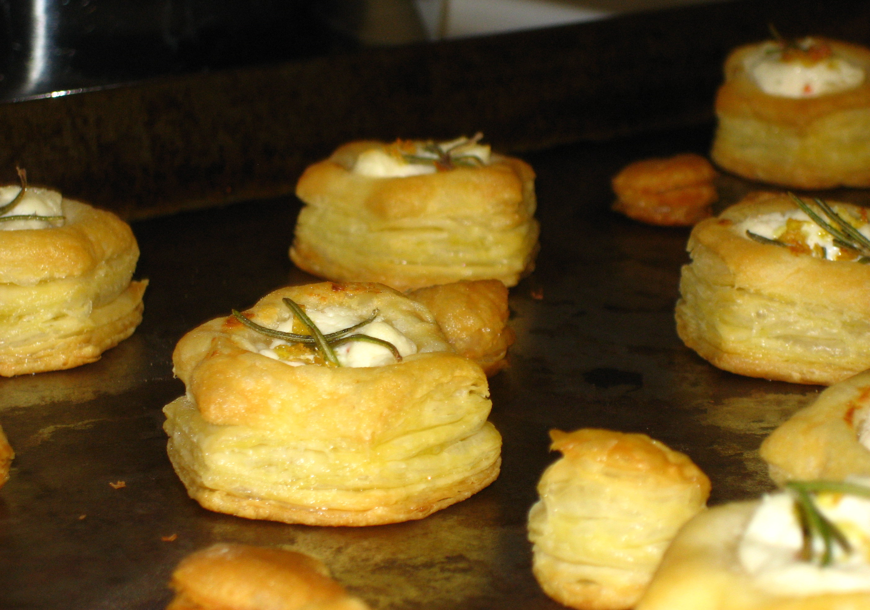 Goat Cheese Puff Recipe — Dishmaps