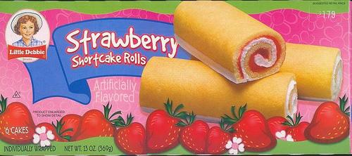 Little Debby Strawberry Shortcake