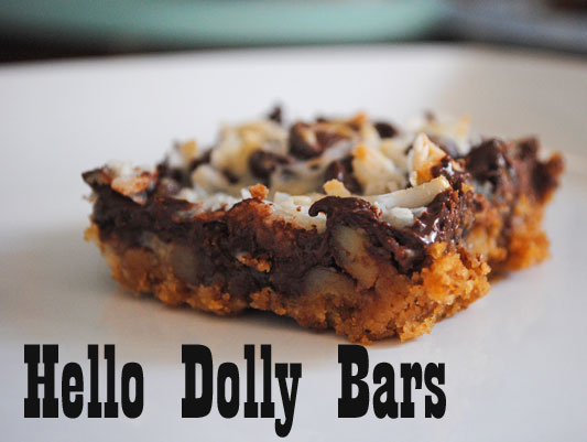 Hello Dolly Bars | Hottie Biscotti