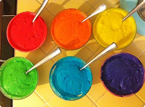 Rainbow Cake Hottie Biscotti