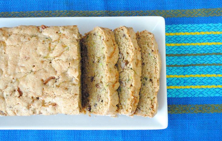 Coconut Oil Zucchini Bread | Hottie Biscotti