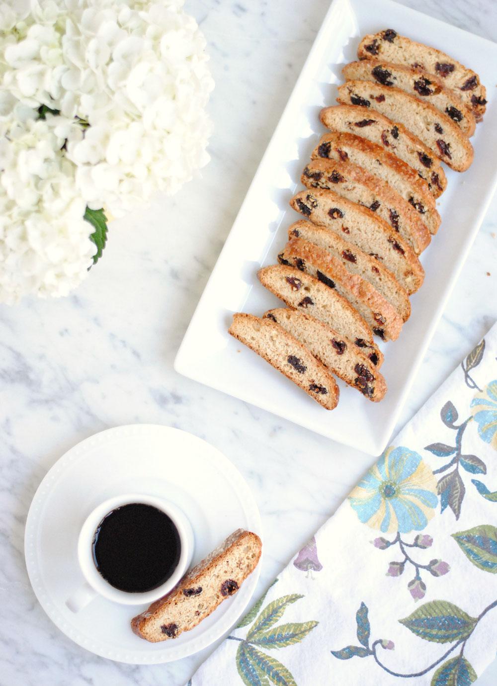 Cherry Almond Biscotti | Hottie Biscotti